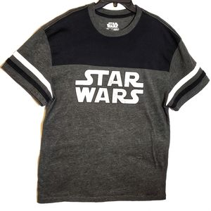 Black and Gray Two-tone Star Wars Tee - Fifth Son